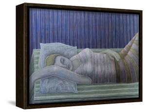 To Sleep, Perchance to Dream (Stripes), 2014 by Ruth Addinall