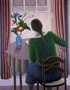 Woman at Window by Ruth Addinall
