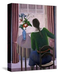 Woman at Window by Ruth Addinall