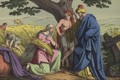 Ruth and Boaz--Giclee Print