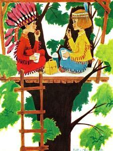 Treehouse Lunch - Jack & Jill by Ruth and Charles Newton