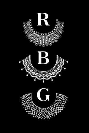 Ruth Bader Ginsburg - RBG Collars