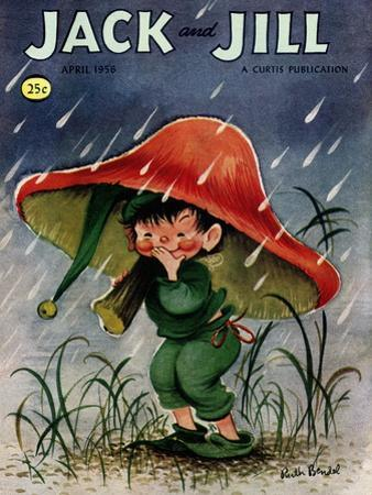 Elf in the Rain - Jack and Jill, April 1956