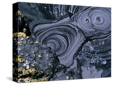 Bubbling Mud Pot in Bumpass Geothermal Area, Lassen Volcanic National Park, U.S.A.