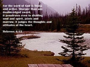 Hebrews 4:12 by Ruth Palmer 2