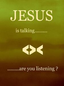 Jesus Is Talking by Ruth Palmer 2