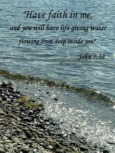 John 7:38 by Ruth Palmer 2