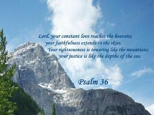 Psalm 36 by Ruth Palmer 2