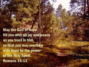 Romans 15:13 by Ruth Palmer 2