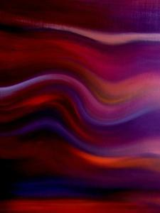 Waves of Color I by Ruth Palmer 2