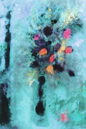 Aqua Fantasy Floral