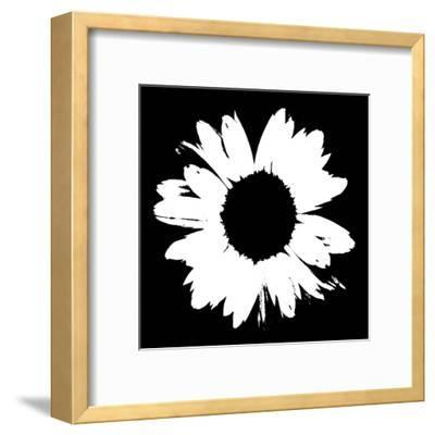 Black And White Abstract Daisy II