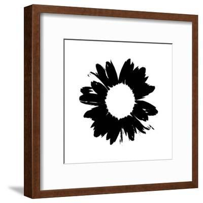 Black And White Abstract Daisy