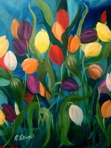 Tulips Galore! by Ruth Palmer Originals