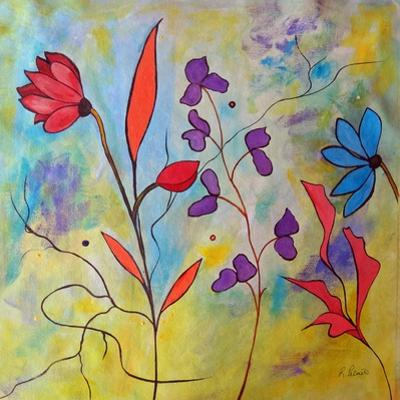 Pink Floral II by Ruth Palmer
