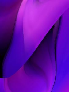 Purple Fuschia Blue Wrap by Ruth Palmer