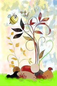 The Bee And The Ladybug by Ruth Palmer