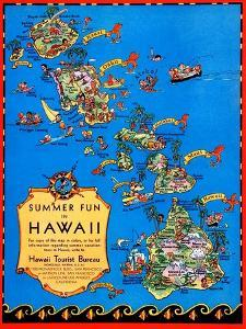 Summer Fun In Hawaii by Ruth Taylor White