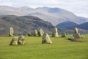 Castlerigg Stone Circle, Keswick, Lake District National Park, Cumbria, England by Ruth Tomlinson