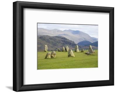 Castlerigg Stone Circle, Keswick, Lake District National Park, Cumbria, England