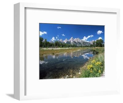from Schwabacher's Landing Across the Snake River to the Teton Range, Grand Teton National Park