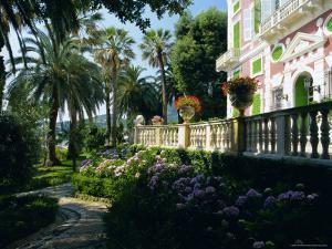 Gardens of the Villa Durazzo, Santa Margherita Ligure, Portofino Peninsula, Liguria, Italy, Europe by Ruth Tomlinson