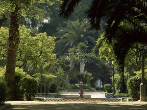 Parque Maria Luisa, Seville, Andalusia (Andalucia), Spain, Europe by Ruth Tomlinson