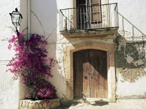 Picturesque Doorway, Altafulla, Tarragona, Catalonia, Spain by Ruth Tomlinson