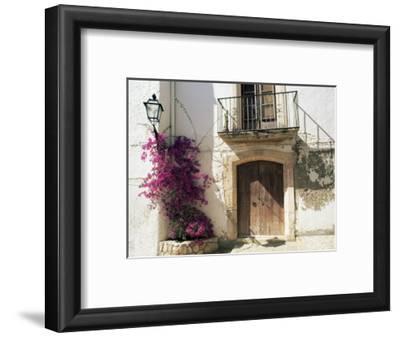 Picturesque Doorway, Altafulla, Tarragona, Catalonia, Spain