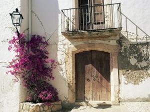 Picturesque Doorway, Altafulla, Tarragona, Catalonia, Spain by Ruth Tomlinson