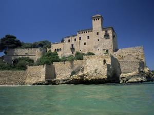 Tamarit Castle, Tarragona, Costa Dorada (Costa Daurada), Catalonia, Spain, Mediterranean by Ruth Tomlinson