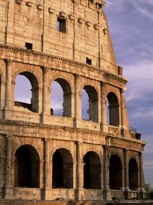 The Colosseum at Sunset, Rome, Lazio, Italy, Europe by Ruth Tomlinson