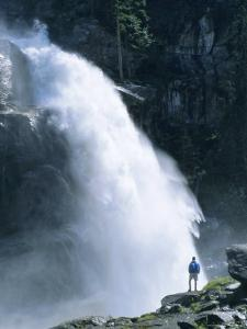 The Krimml Falls, Salzburg, Austria, Europe by Ruth Tomlinson