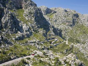 The Winding Mountain Road to Sa Calobra, Mallorca, Balearic Islands, Spain, Europe by Ruth Tomlinson
