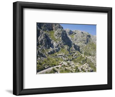 The Winding Mountain Road to Sa Calobra, Mallorca, Balearic Islands, Spain, Europe