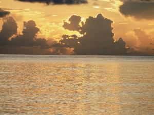 Tropical Sunset, Cayman Islands, West Indies, Central America by Ruth Tomlinson