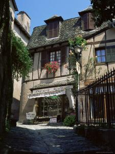 Typical Charcuterie, Conques, Aveyron, Midi-Pyrenees, France by Ruth Tomlinson