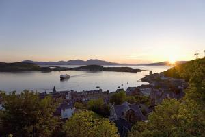 View over Oban Bay from Mccaig's Tower by Ruth Tomlinson
