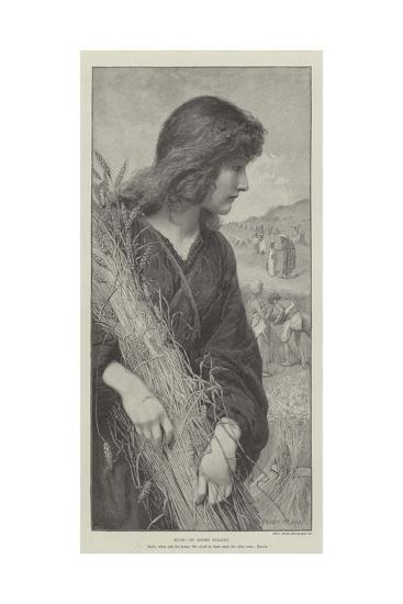 Ruth-Henry Ryland-Giclee Print
