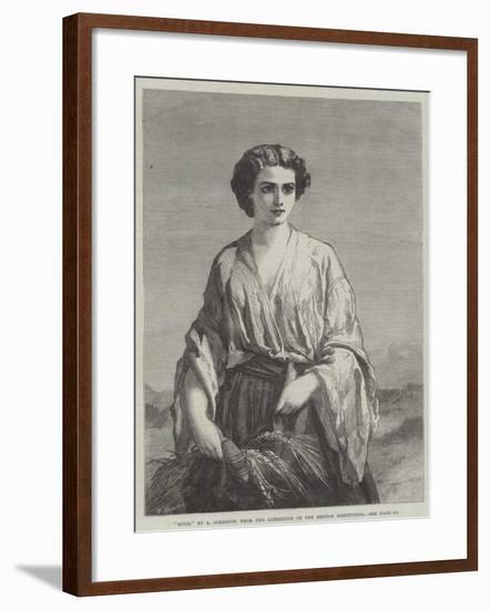 Ruth--Framed Giclee Print