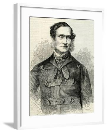 Rutherford Alcock (1809-97) from 'The Illustrated London News' 23rd July, 1864--Framed Giclee Print