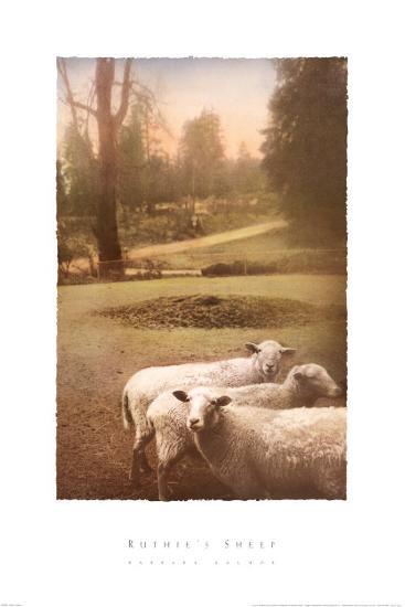 Ruthie's Sheep-Barbara Kalhor-Art Print