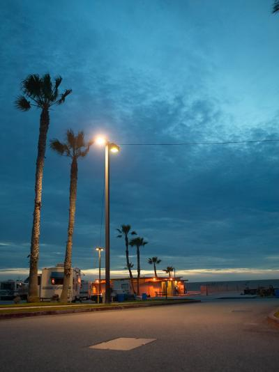RV Park by the Ocean--Photographic Print