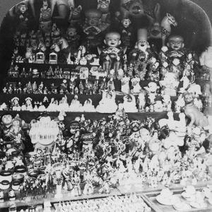 A Toy Shop in Kyoto, Japan, 1901 by RY Young