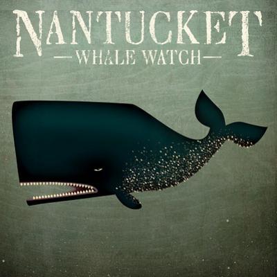 Barnacle Whale Nantucket by Ryan Fowler