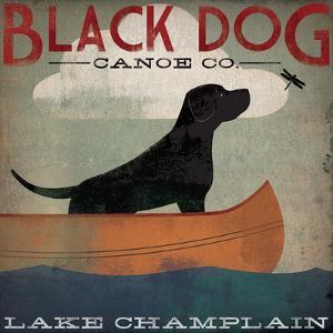 Black Dog Lake Champlain by Ryan Fowler