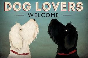 Doodle Dog Lovers Welcome by Ryan Fowler