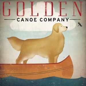 Golden Dog Canoe Co Right Facing by Ryan Fowler