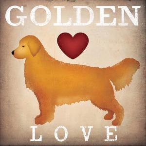 Golden Dog Love I by Ryan Fowler