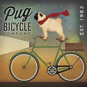 Pug on a Bike by Ryan Fowler